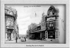 La rue à droite c'est la gare,à gauche rue Goffard et le magasin que l'on voit au centre est devenu la cinéma Paladium.