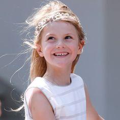 😍☀️ Princess Estelle at Crown Princess Victoria's Birthday 🎂💙💛🎉 🎉