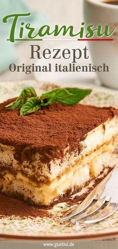 Extra creamy, extra Italian – here's the delicious original recipe for classic tiramisu. Extra creamy, extra Italian – here's the delicious original recipe for classic tiramisu. Dessert Recipes For Kids, Desserts For A Crowd, Healthy Dessert Recipes, Easy Desserts, Smoothie Recipes, Health Desserts, Elegant Desserts, Italian Desserts, Summer Desserts