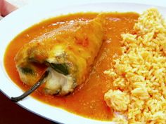 AUthentic Chile Rellenos. This will be my next cheat meal!! @Lena Åberg Lou pleeeease have your mama make me this with some of her bomb ass rice!