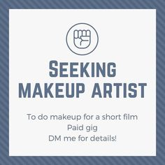 @m.ringrose IS HIRING  Makeup artist needed for a short film! ASAP. #halifaxmakeup #halifaxnoise #halifax #makeuphalifax #halifaxmakeupartist #southshore #bridgewater #lunenburg