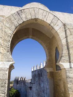 Pastora Arch in Moorish Style, Medina Sidonia, Cadiz Province, Andalucia, Spain, Europe