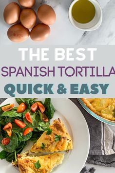 Quick Family Recipe - Oven Baked Spanish Tortilla. #familyrecipe #familyfood #tortilla #ovenbaked #kidsrecipes