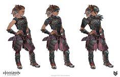ArtStation - Horizon: Zero Dawn - Aloy costumes concept art, Ilya Golitsyn
