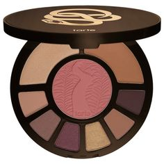 Tarte Rainforest After Dark Palette LIMITED EDITION- Tarte palette. This is an amazing everyday palette that comes with blush, highlighter, bronzer, and eyeshadows! Box not included. Dupes, Neutral Nail Color, Nude Eyeshadow, Eyeshadows, Mac Lipsticks, Sensitive Skin Care, Brooke Shields, It Cosmetics Brushes, Benefit Cosmetics