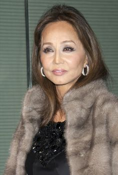 Isabel Preysler - Giorgio Armani and Vogue Present New Collection 'La Femme Bleue' 2011