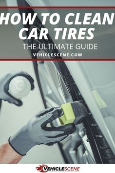 Let us guide you step by step through cleaning your car tires, DIY but as good as the professionals. We cover the tools and supplies you need, as well as clear instructions, for this vital part of car detailing. Best Tire Shine, Best Pressure Washer, Car Wash Soap, Car Guide, Used Tires, Car Cleaning Hacks, Clean Your Car, Best Tyres, Flat Tire