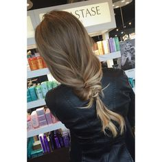 #infinity #braid #updo #hairstyles #sombre #natural #hair #color follow @haleydoeshairs on instgram for more looks like this, link to view profile.