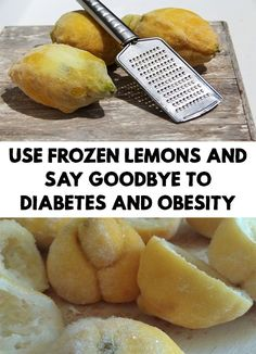 Lemon have so many benefits for our health, but if you freeze it and the effect will be doubled! Use Frozen Lemons and Say Goodbye to Diabetes and Obesity!