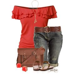 """Summer Casual"" by jackie22 on Polyvore"