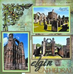 Elgin Cathedral, Scotland - LEFT SIDE - Scrapbook.com