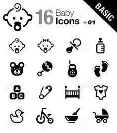 17896103-Basic-Baby-icons-Stock-Vector-baby-icon-pictogram.jpg (1140×1300)