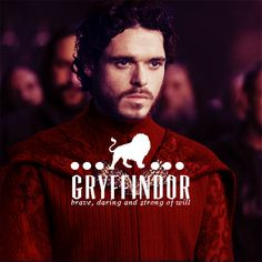 Game of Thrones as Hogwarts founders - Robb as Gryffindor