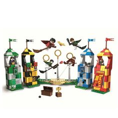 SALE New Harry Potter Movie Quidditch Match Building Kit Blocks Toys For Children Festival Gift Compatible With Legoings 75956 Harry Potter Film, Harry Potter Quidditch, Lego Harry Potter, Model Building Kits, Lego Building, New Kids Toys, Lego News, Christmas Gifts For Kids, Lego Brick
