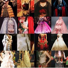 Movie and stage production phantom of the opera costumes. I LOVE her masquerade costume!!!!!