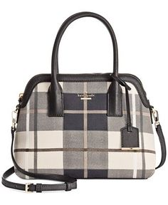kate spade new york Cameron Street Fabric Maise Satchel - kate spade new york handbags - Handbags & Accessories - Macy's
