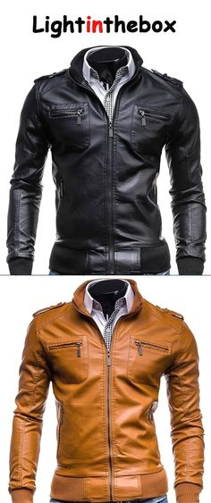 35c575263 35 Best mens images | Men's Fashion, Leather jackets, Jacket men