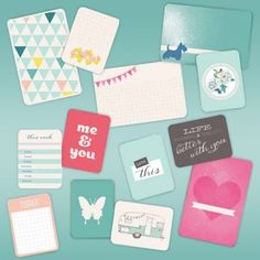 #sneakpeek: Make papercrafting easy with Project Life kits, sale starting on Saturday! #blitsybuys