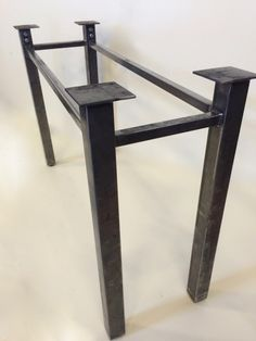 Set of 2 Legs, Steel, Sturdy Legs, Metal Table Legs, Industrial Legs, Table…