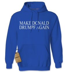 Hoodie Make Donald Drumpf Again Hooded Jacket by XpressionTees