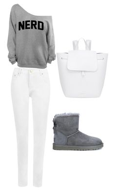 """Untitled #23"" by semic-merisa ❤ liked on Polyvore featuring UGG Australia, WearAll and Mansur Gavriel"
