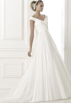 The Pronovias #wedding dresses Pre-2015 http://www.modwedding.com/2014/06/05/pronovias-wedding-dresses-2015-colleciton-part-1