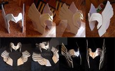 I took the privilege to create a variation of tiaras from the Thor ( I know by this is dosn't in kanon). Material-plastic on foam basis, wing and the bulk of the originally selected. Possibly disco...