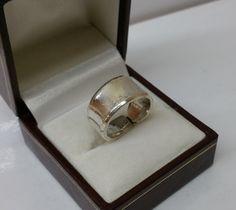 161 mm Besteckschmuck Silberbesteck Ring von BesteckschmuckBaron