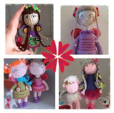 Fairies Crochet Dolls, Crochet Hats, Fairies, How To Make, Pattern, Inspiration, Knitting Hats, Faeries, Biblical Inspiration