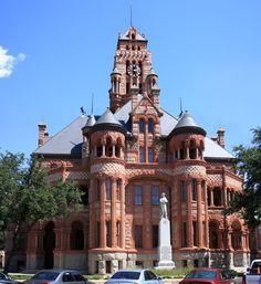 Ellis County Courthouse Texas