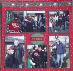 Christmas Parade 2010 - Family Layout - Scrapbook.com