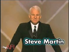 Steve Martin Opens The AFI Life Achievement Award: A Tribute To Tom Hanks. Hilarious. I love  Steve an Tom equally.