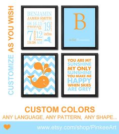 Nursery birth art for baby boys birth stats print personalized personalized baby gifts wall decor you are my sunshine baby name baby boy birth announcement negle Gallery
