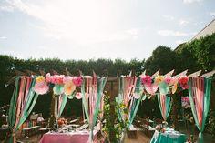 1950s Technicolor Inspired Wedding