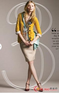 J. Crew women's casual wear autumn 09 New Series (Photos) - Casual clothing - clothing industry