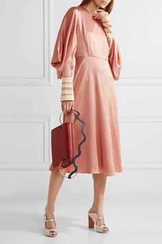 Roksanda - Dora Leather Shoulder Bag - Brick
