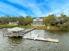 Johns Island Sc, Seabrook Island, Real Estate Rentals, Boat Lift, Boat House, Screened In Porch, Find Property, Private Pool, Estate Homes
