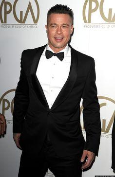 Brad Pitt-2014....He cut his hair for a film :(