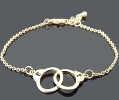 Hey, I found this really awesome Etsy listing at https://www.etsy.com/listing/109299790/handcuffs-bracelet-gold-bracelet-simple