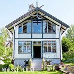 Gammeldags tørkestativ | Magasinet Norske Hjem Home Fashion, Gazebo, Outdoor Structures, Cabin, House Styles, Home Decor, Kiosk, Decoration Home, Room Decor