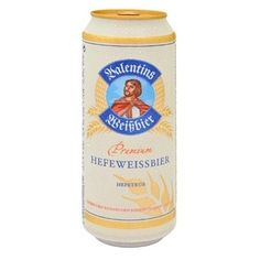 Cerveja Valentins Hefeweissbier, estilo German Weizen, produzida por Parkbrauerei, Alemanha. 5.2% ABV de álcool.