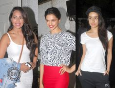 Finding Fanny Special Screening At Bollywood Stars
