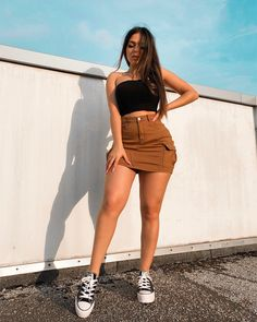 ▷ 30 Outfits de Moda para este VERANO 2019 - La Nueva TENDENCIA - You are in the right place about vsco outfits Here we offer you the most beautiful pictures about - College Outfits, Outfits For Teens, Fall Outfits, Fashion Outfits, Womens Fashion, Work Outfits, Fashion Trends, School Outfits, Hot Weather Outfits
