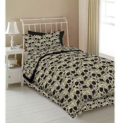 Flower Skulls Kids' Bedding Collection by Veratex® at www.younkers.com