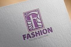 Check out Fashion F Letter Logo by samedia on Creative Market