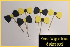 Bows approx x but this doesn't detract from the overall look. Wiggles Birthday, Wiggles Party, 1st Birthday Girls, 3rd Birthday Parties, Birthday Ideas, Theme Ideas, Party Ideas, Wiggles Cake, Ideas
