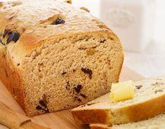 Chleb orzechowo-śliwkowy Bread, Food, Brot, Essen, Baking, Meals, Breads, Buns, Yemek