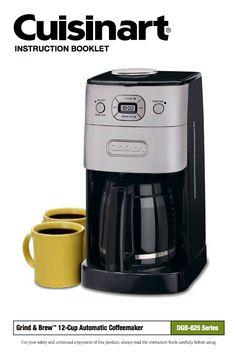 32 best coffeemaker manuals images on pinterest espresso maker rh pinterest com Cooks Coffee Maker Programmable Toaster Cooks