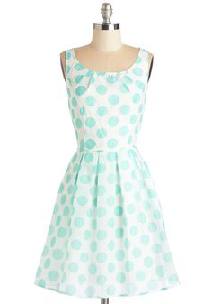 Sea Breeze the Day Dress. Take advantage of todays sunny skies by strolling to the boardwalk in this white ModCloth-exclusive dress! #white #modcloth