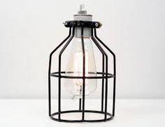 Resultado de imagen para lamps vintage with cage images